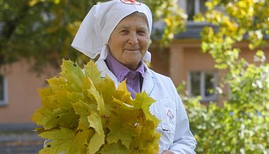 A nurse from the era of mercy: Nina Bliznyuk.